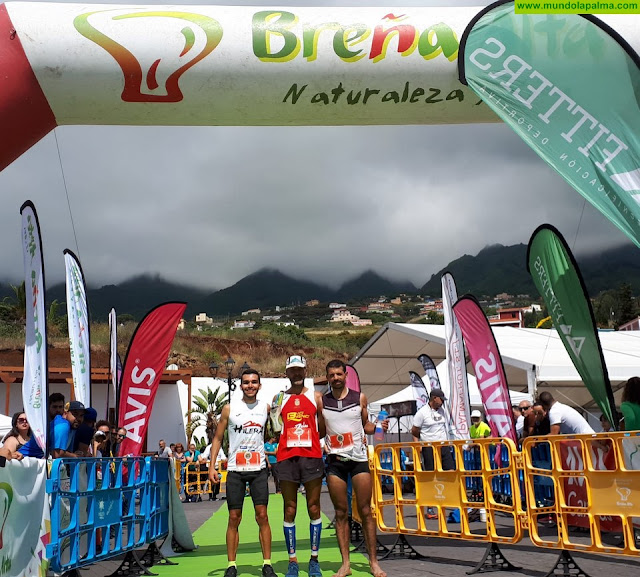 Éxito de participación en la II Breña Alta Trail 2019