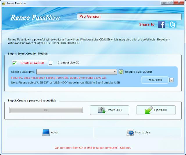Screenshot Renee PassNow Pro 2020.03.05.116 Full Version