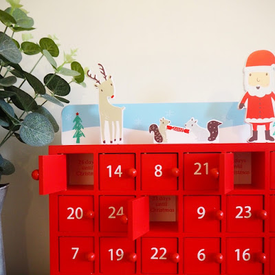 Great Little Trading Co Wooden Advent Calendar
