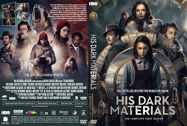 His Dark Materials Season 1 DVD Cover