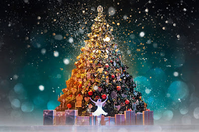 wallpaper merry christmas and happy new year 2020