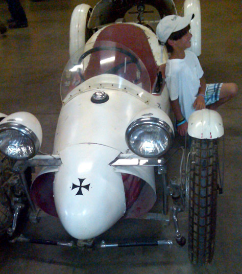 Just A Car Guy: Unusual Belly Tanker Found By Mike Wolfe