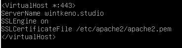 Konfigurasi VirtualHost Apache2