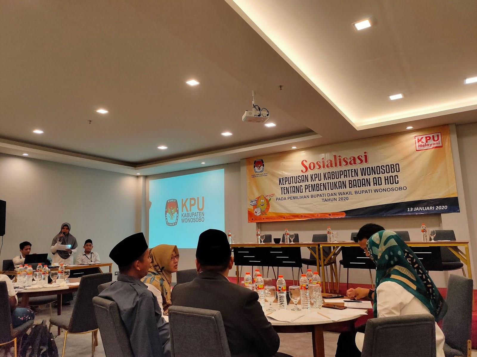 Rekrutmen PPK (Panitia Pemilihan Kecamatan) Pilbup 2020 Wonosobo