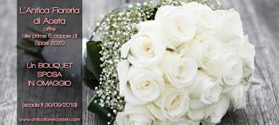 fiori matrimonio valle d'aosta sconto