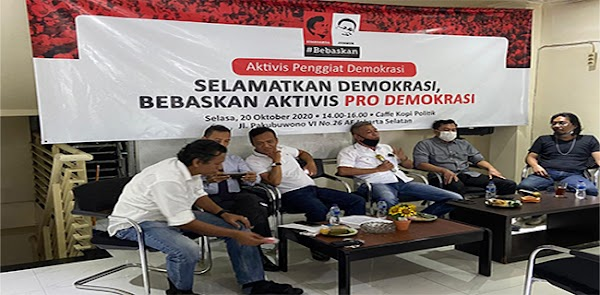 Ingatkan Presiden Jokowi, Aktivis 98: Demokrasi Bukan Gratis, Tapi Lahir Dari Air Mata Dan Darah Rakyat