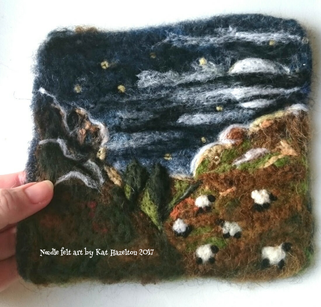 One of my felted pictures.