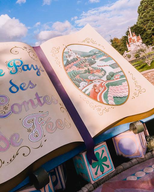 Mickey And The Magician e  Le Pays Des Contes de Fées - Atrações Disneyland Paris