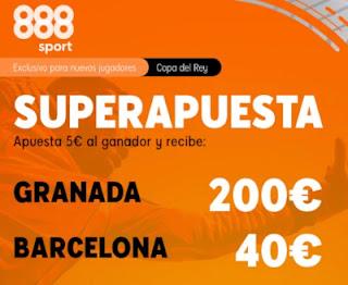Superapuesta 888sport Granada v Barcelona 3-2-2021
