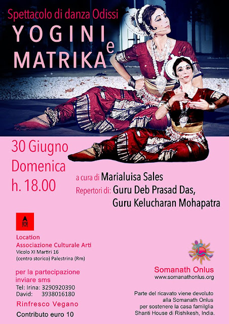 danza odissi 64 yogini matrika shakta tantra marialuisa sales
