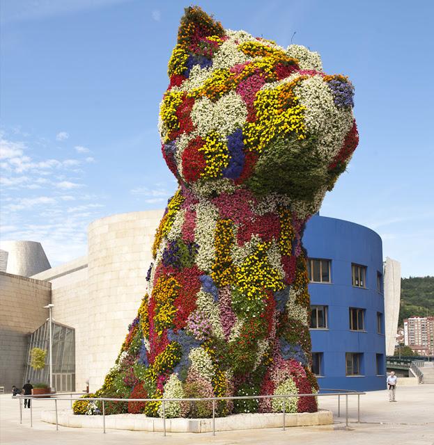 Puppy, Museo Guggenheim Bilbao, 1992