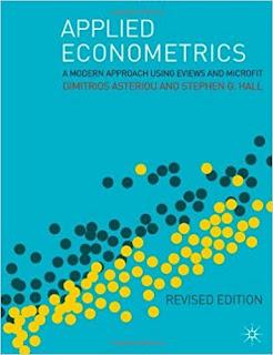 Applied Econometrics by Dimitrios Asteriou, Stephen G. Hall