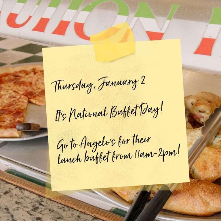 National Buffet Day Wishes Beautiful Image