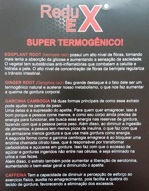 Reduex Super Termogênico 60 Cápsulas