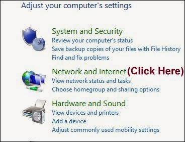 PC as Hotspot Control Panel