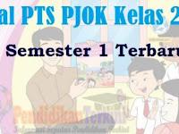 Soal PTS PJOK Kelas 2 SD/MI Semester 1 K13 dan Kunci Jawaban
