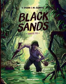 Black Sands Unité 731 de M. Contis et T. Oger aux éditions Rue de Sèvres