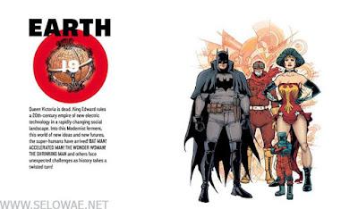 daftar semua 52 Macam Earth (Bumi) dalam DC Multiverse