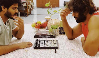 Anand Devarakonda Playing Chess With His Brother