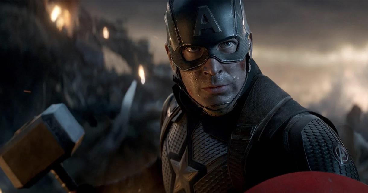 Chris Evans - Capitão América - Vingadores Ultimato