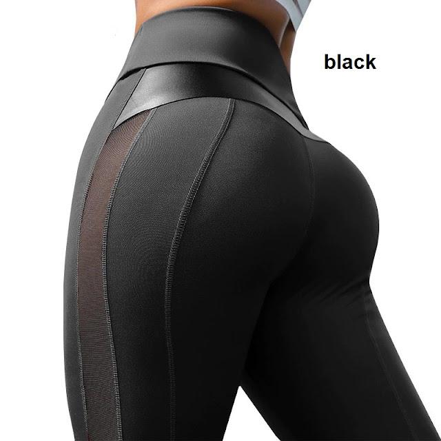 Mesh Power Leggings black