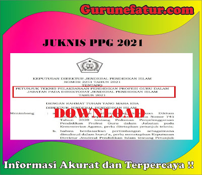 Download Juknis PPG 2021