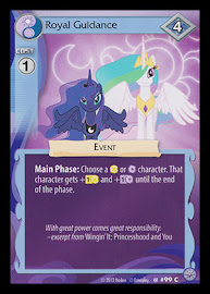 My Little Pony Royal Guidance Premiere CCG Card