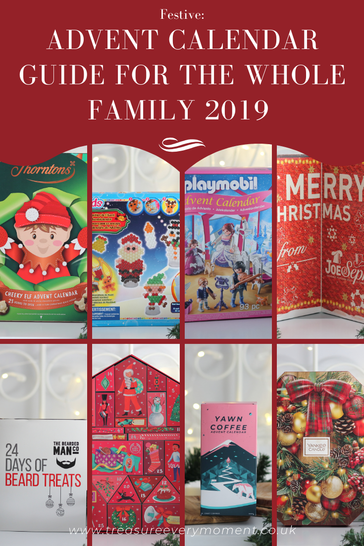 Advent Calendar Guide for the Whole Family 2019