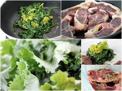 Cima di Rapa {Stängelkohl} mit Lammkoteletts – köstliches Rezept, ganz einfach! | Arthurs Tochter kocht. Der Blog für Food, Wine, Travel & Love