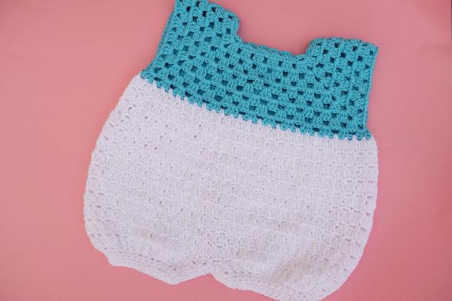 1 - Crochet Imagen Pantalones para canesú vintage a crochet y ganchillo Majovel Crocher facil sencillo DIY paso a paso