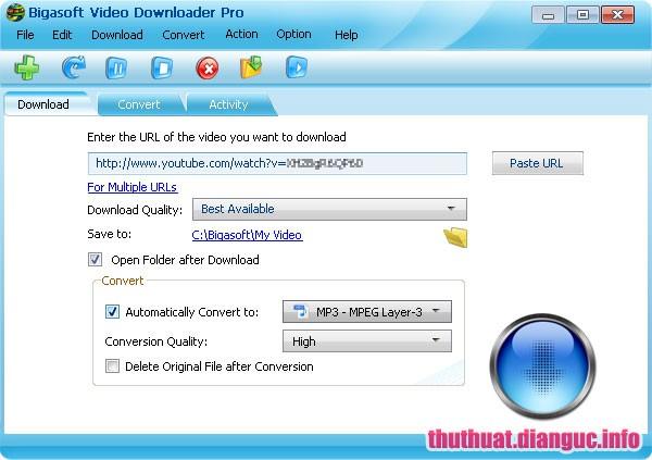 Download Bigasoft Video Downloader Pro 3.16.8.6947 Full Cr@ck
