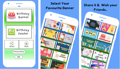 Top 3 Happy Birthday Banners and Poster Maker Apps