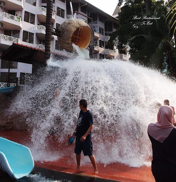 Falling Coconut