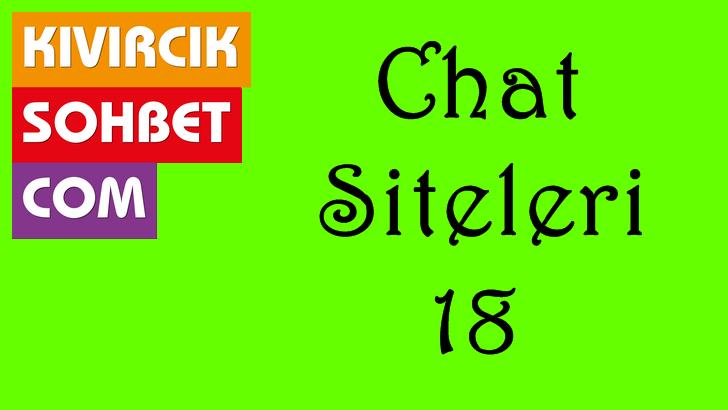 Chat Siteleri 18, Görüntülü Arkadaşlıklara Doyacaksın. Canlı sohbet, departmanı sanal alemin en çok konuşulan canlı sohbet odaları tabiki reel sohbet adresimizin profesyonel ekibimiz hazırladığı ücretsiz canlı sibersahne sohbet siteleri başı çekmektedir.