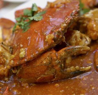 Chilli crab makanan khas singapura