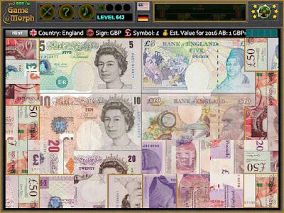 British Pound Puzzle