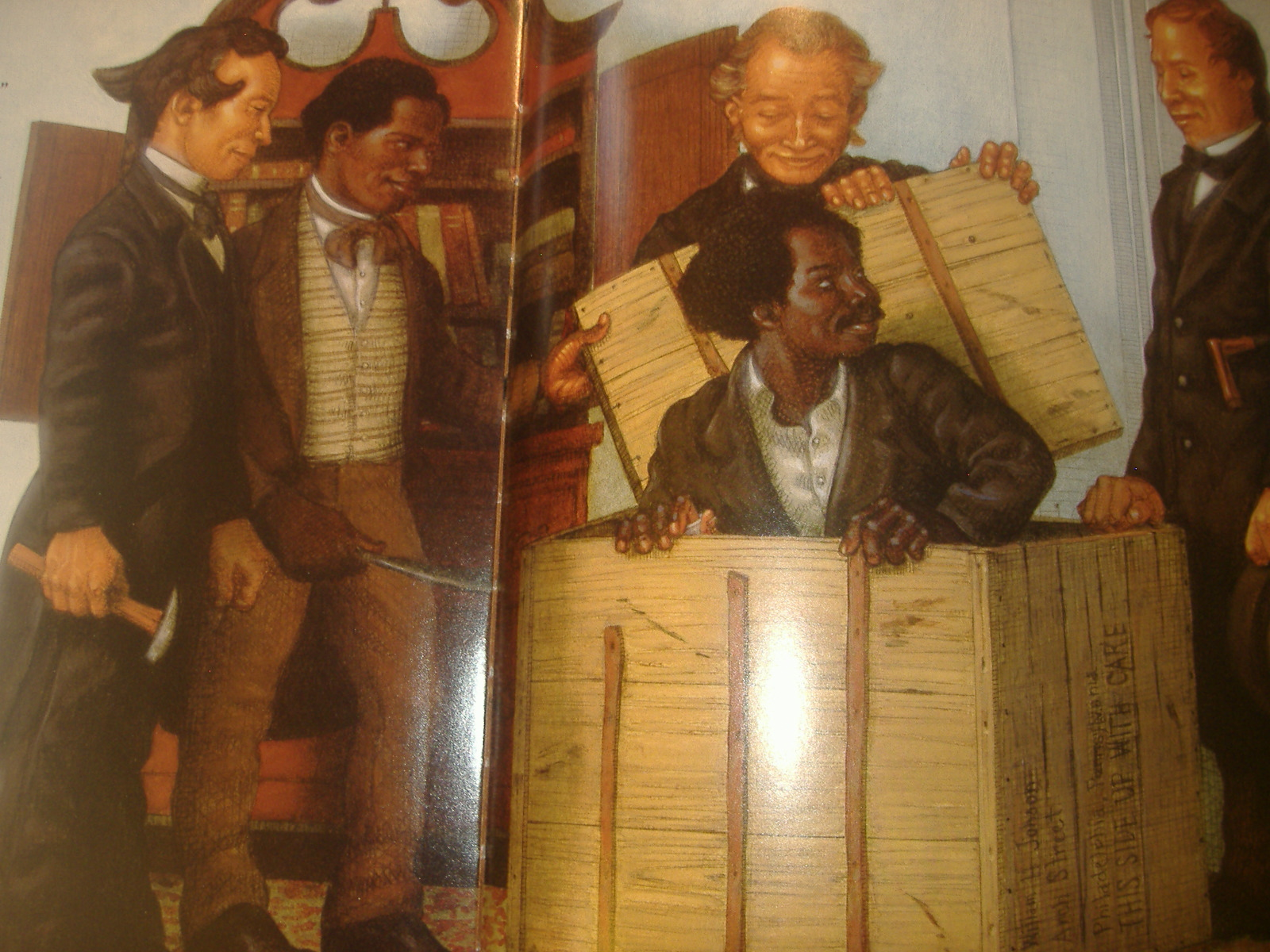 Porter S Primary Book Reviews Henry S Freedom Box