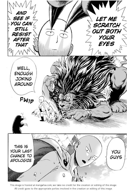 ONE PUNCH MAN CHAPTER 8 Page 13