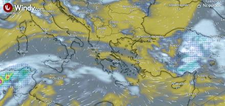 Αφρικανική σκόνη στα ανατολικά και νότια - Μικρή άνοδος της θερμοκρασίας