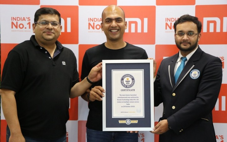 xiaomi sets guinness world record with 500 mi stores