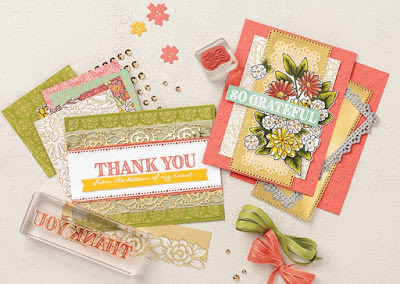 9 Stampin' Up! Ornate Garden Spring Projects + 2 Videos #stampinup