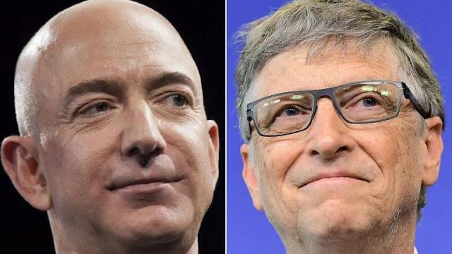 Amazon founder Jeff Bezos overtook Bill Gates as the world's richest man on Thursday