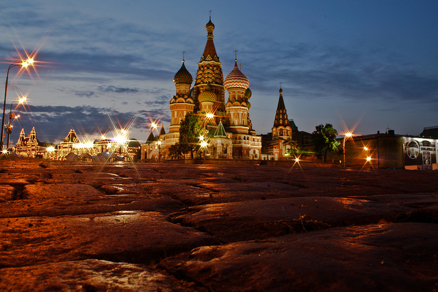 Russia, beautiful countries to visit in Eastern Europe