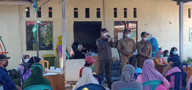 Empat Desa Mitra Binaan Kejari Pulpis Mendapat Program Vaksinasi