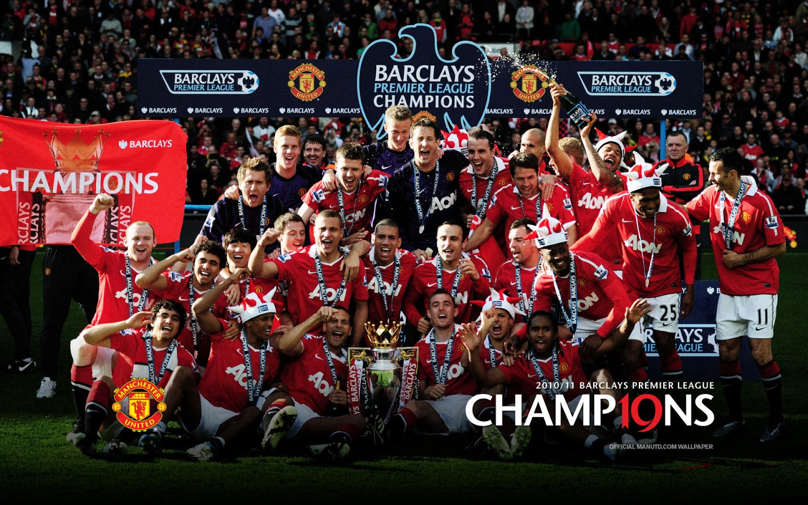 Manchester United Football Club Wallpaper - Football
