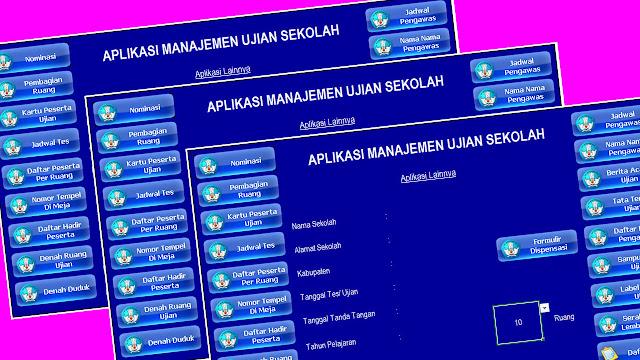Aplikasi Manajemen Ujian Sekolah