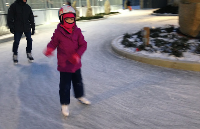 Young skater on Riverdale Park East rink