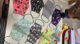 Cuidado ao comprar máscaras nas ruas de Manaus. Veja como são embaladas