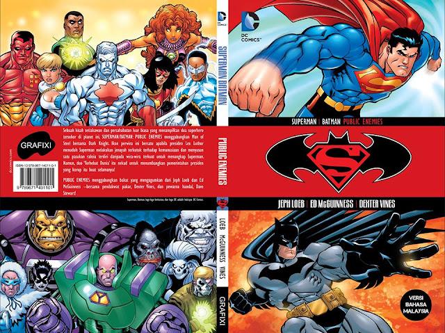 Fixi Tubuh Label Grafixi, Beli Hak Terjemah DC Comics