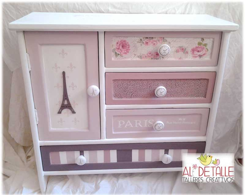 Rosabel manualidades mueble shabby chic - Shabby chic muebles ...